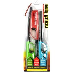 Elite Long Multi purpose Utility Fire Lighters 3 Pack Firepl