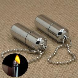Emergency Gear Fire Stash Waterproof Mini Survival Lighter C