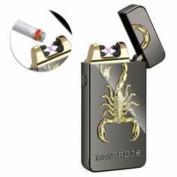 Encendedor Cigarrillo Electrico Arco Doble.Recargable USB Re