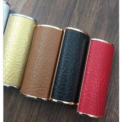 Fashion Leather <font><b>Lighter</b></font> Shell Metal Fram