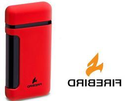 Firebird Sidewinder Red Cigar Lighter Butane Single Torch Bu