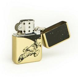 QMx Firefly Brass Lighter