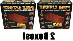 boxes Fire Liters # 10192 192 Pack Fireplace Firewood Charc