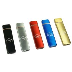 Flameless Windproof Lighter Electronic Touch Sensor USB Rech