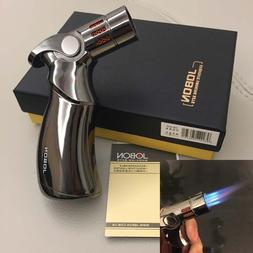 Jobon Four Torch Jet Adjustable Flame Refillable Cigarette C