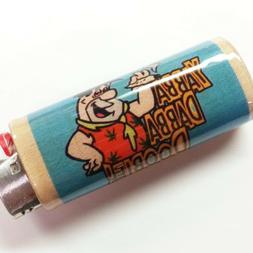 Fred Flintstone Joint Lighter Case Holder Sleeve Cover Fits