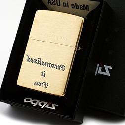 Free Engraving - Personalized Groomsman Zippo Lighter Windpr