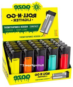 Ooze Roll-N-Go Refillable Lighter With Hidden Smell Proof St