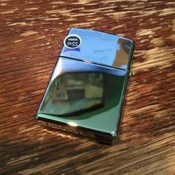Genuine Zippo High Polish Chrome windproof Lighter CASE ONLY
