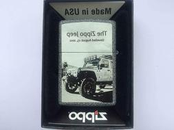 Zippo Genuine Refillable Cigarette Lighter, The Zippo Jeep #