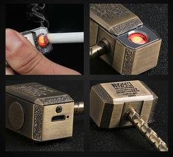 God Of Thunder Thor Lighter Micro-USB Rechargeable Arc with