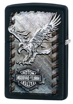 Zippo Harley-Davidson Eagle Black Matte Lighter