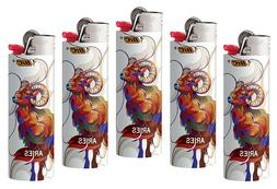 BIC Horoscope Lighters 4 Pack Aries Collectable Design