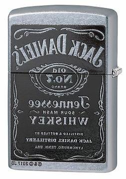 Zippo Jack Daniel's Tennessee Whiskey Label Pocket Lighter,