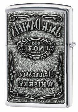 Zippo Jack Daniel's Tennessee Whiskey Emblem Pocket Lighter,