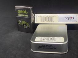 Jeep the Original Zippo Lighter NMINT in Box