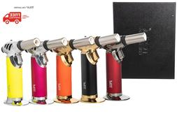 TESLA® Coil Lighters Jet Flame Butane Refillable Torch Ligh