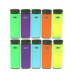 MK JET TORCH 10 Ct Full Size Lighters Refillable Windproof C