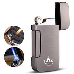 HUOWA Jet Torch Cigar Lighter, Unique Soft/Jet Flame Switcha