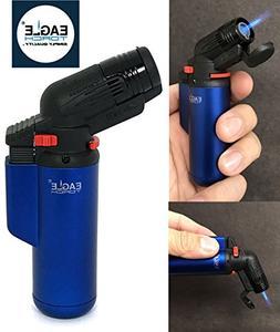 Eagle Jet Torch Gun Lighter  Adjustable Flame Windproof Buta