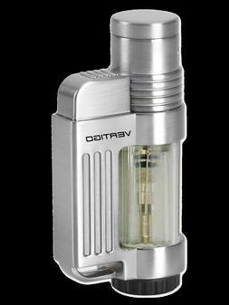 """Vertigo """"Jolt"""" Butane Lighter, Clear, Wind Resistant Torch F"""