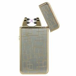 Kivors USB Rechargeable Flameless Electronic Dual Pulse Arc