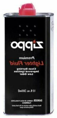 12 Oz / 355 ml Zippo Fuel Fluid, For All Pocket Lighters #1