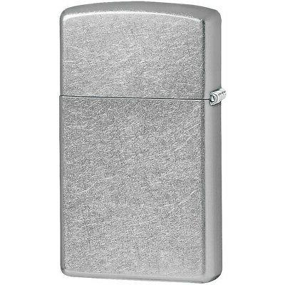 Zippo 1607 Slim Street Chrome Sealed Windproof Pocket Lighte