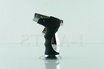 Scorch Quad Torch Lighter With Cigar Puncher
