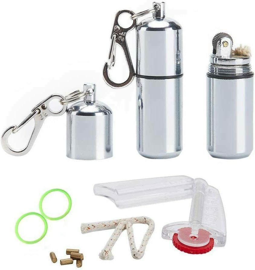 2 EDC Peanut Waterproof Keychain Lighter
