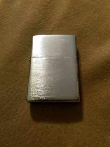 2001 3D Brushed Chrome Zippo