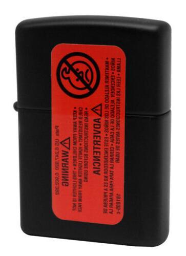Zippo 29398 Skull Gum Black Matte Windproof