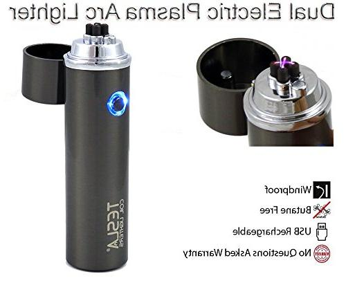 360 dual arc usb rechargeable