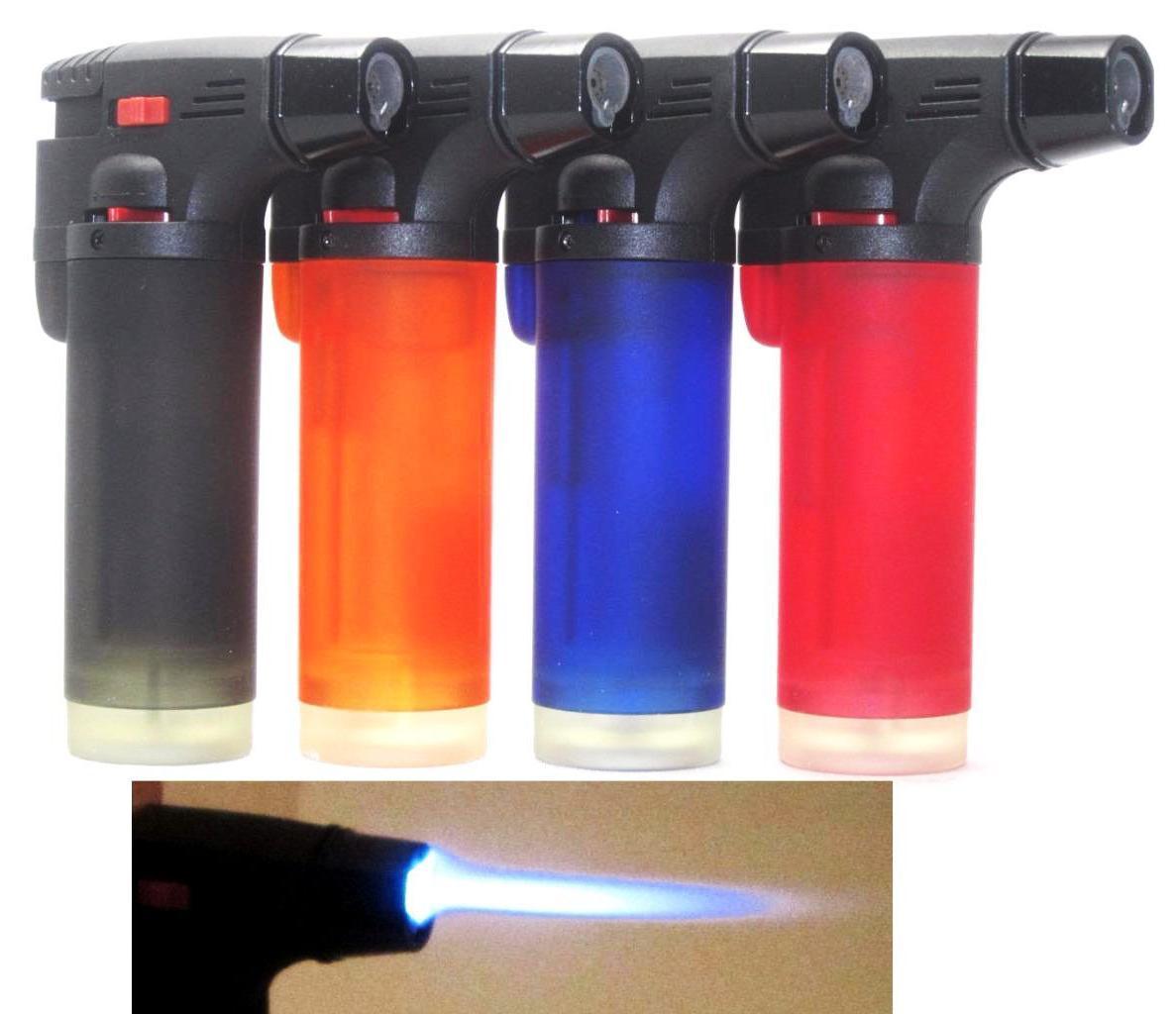 4 Butane Torch Gun Adjustable Jet Flame