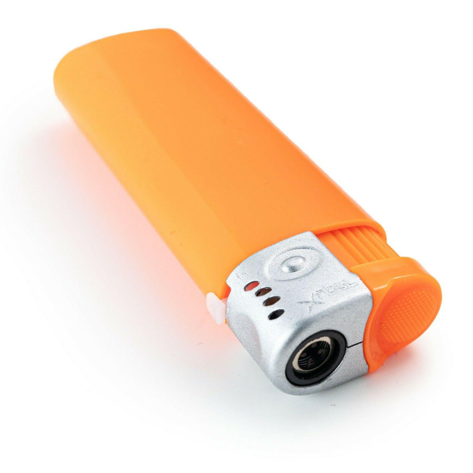 5 Pack Xuper Jet Flame Lighters Adjustable & Butane