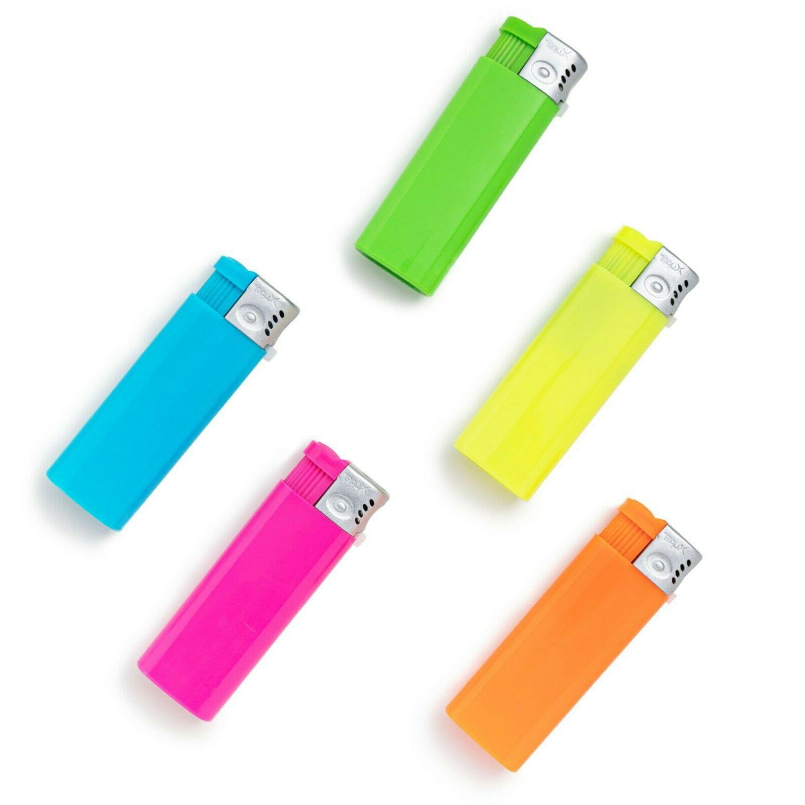 5 Pack Jet Lighters Adjustable & Butane Refillable
