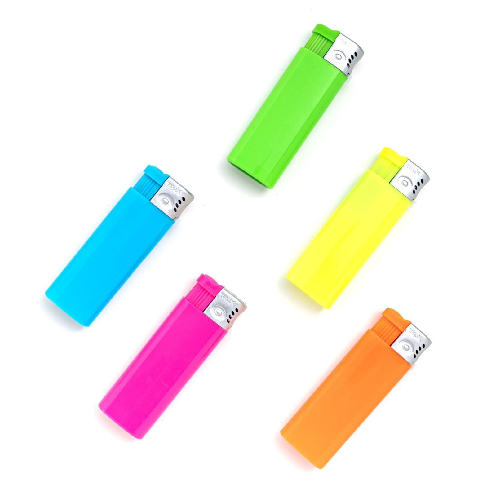 5 packs xuper neon jet butane pocket