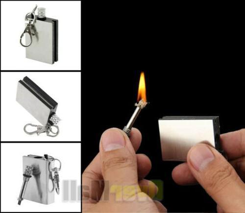 5x Waterproof Permanent Match Lighter, Endless Camp Fire Starter
