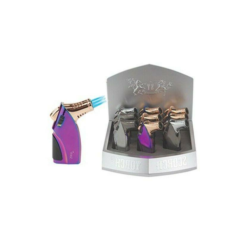 Scorch Triple Torch Lighter- Choose Color FREE SHIPPING!!