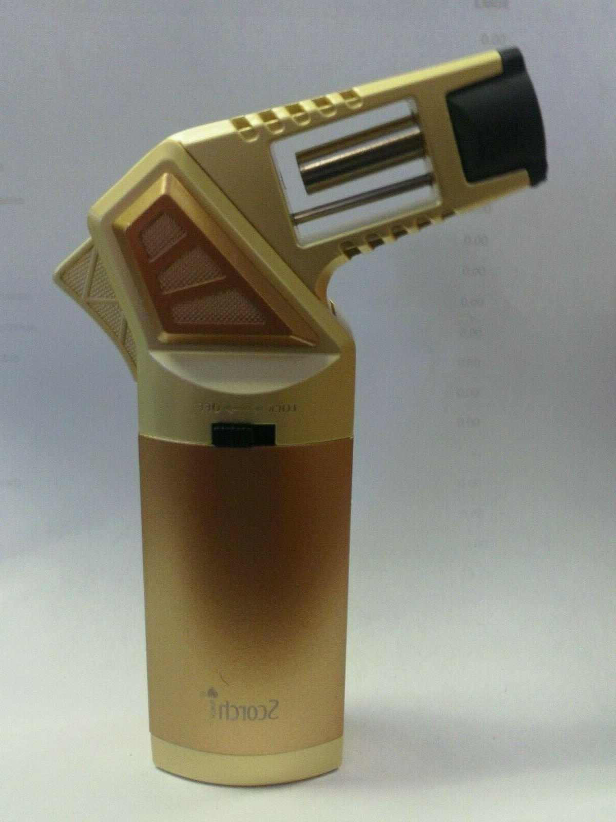 SCORCH TORCH #61575 GRIP SINGLE BUTANE CIGARETTE COPPER