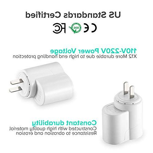 AC to DC Socket Adapter to 12V Charger, Lighter, With USB AC DC Adapter 110~220V to
