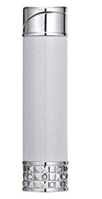 Colibri Allure Soft Flame Ladies lighter - Silver & Chrome