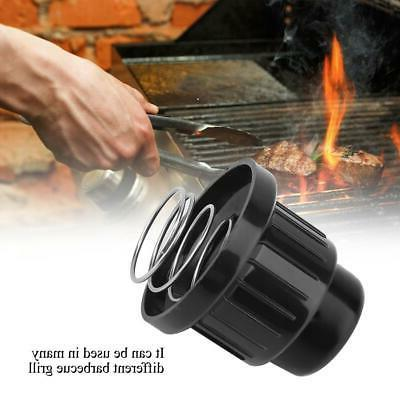Black Plastic Lighter Ignitor Cap Replaceable Gas Grill Barb