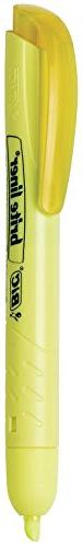 BIC Brite Liner Retractable Highlighter, Chisel Tip, Fluores