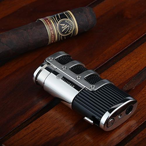 Mantello Jet Flame Cigarette Cutter