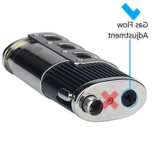 Mantello Catador Flame Torch Lighter Cigar Punch Cutter