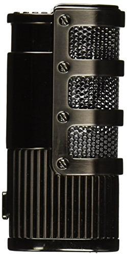 Visol Cato Triple Jet Flame Lighter, Gunmetal