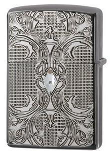 Zippo Choice Crystal Armor Black Ice 28956 Lighter