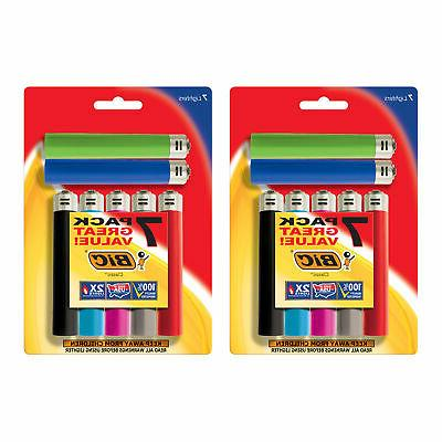 classic lighter assorted colors 14 pack