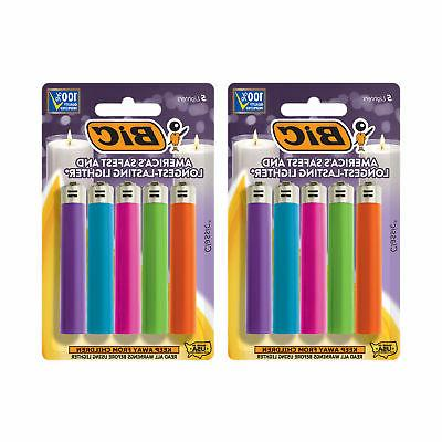 classic lighter fashion assorted colors 10 pack